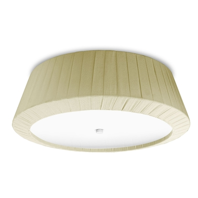 Florencia Cream Flush Ceiling Light