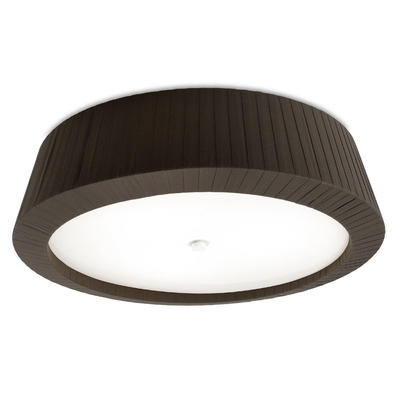 Florencia Black Flush Ceiling Light