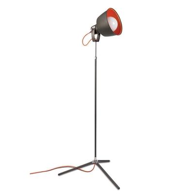 Vintage Grey Floor Lamp