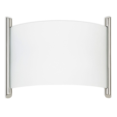 Curved Glass Wall Light