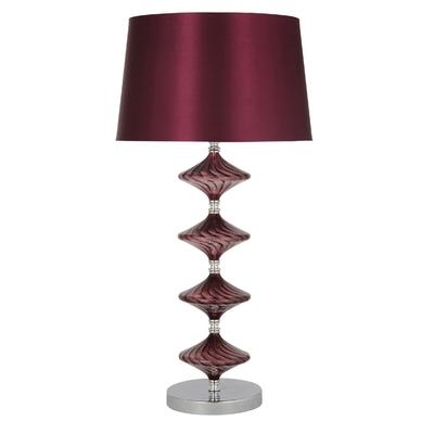 Gabby Purple Table Lampset