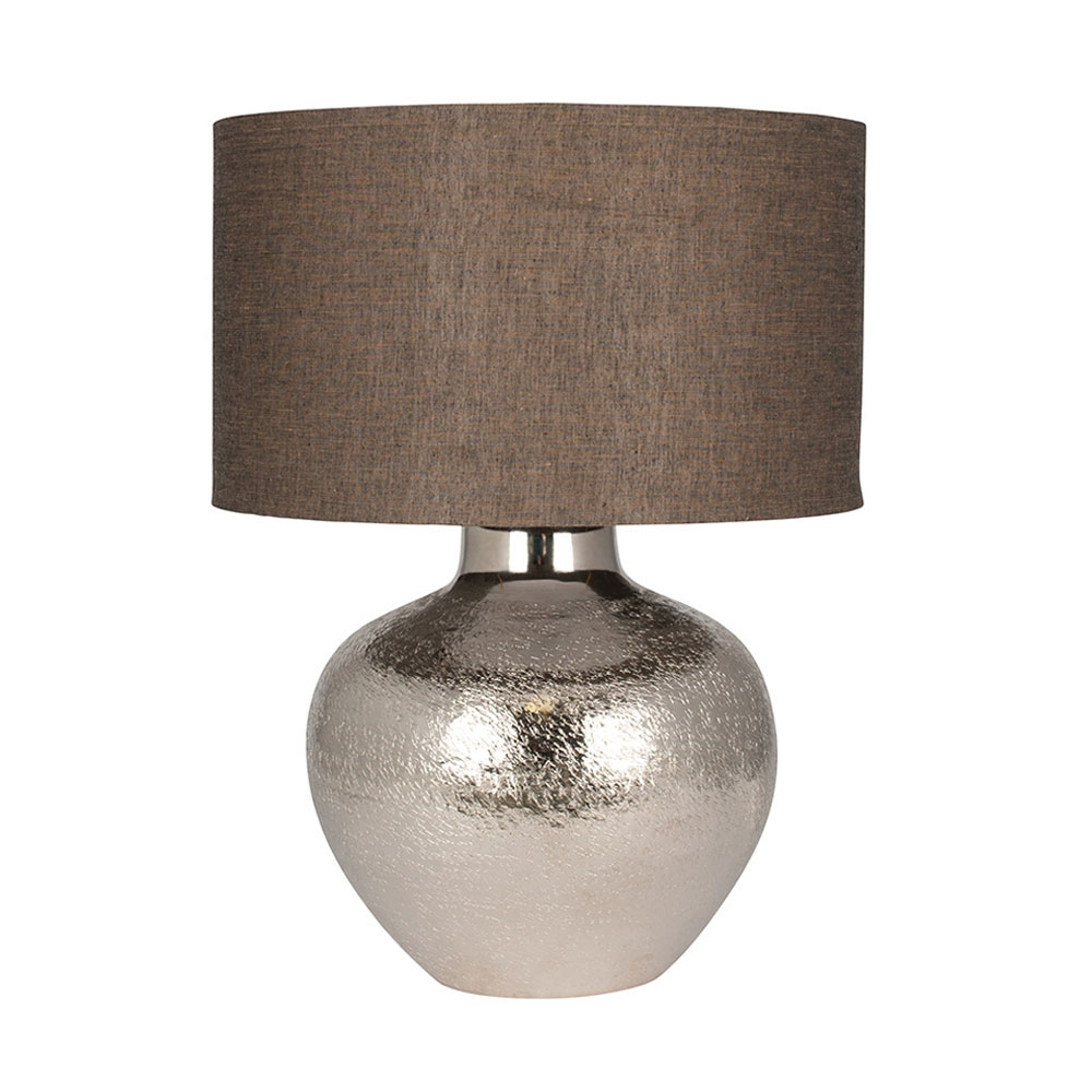 Adi Nickel Table Lamp