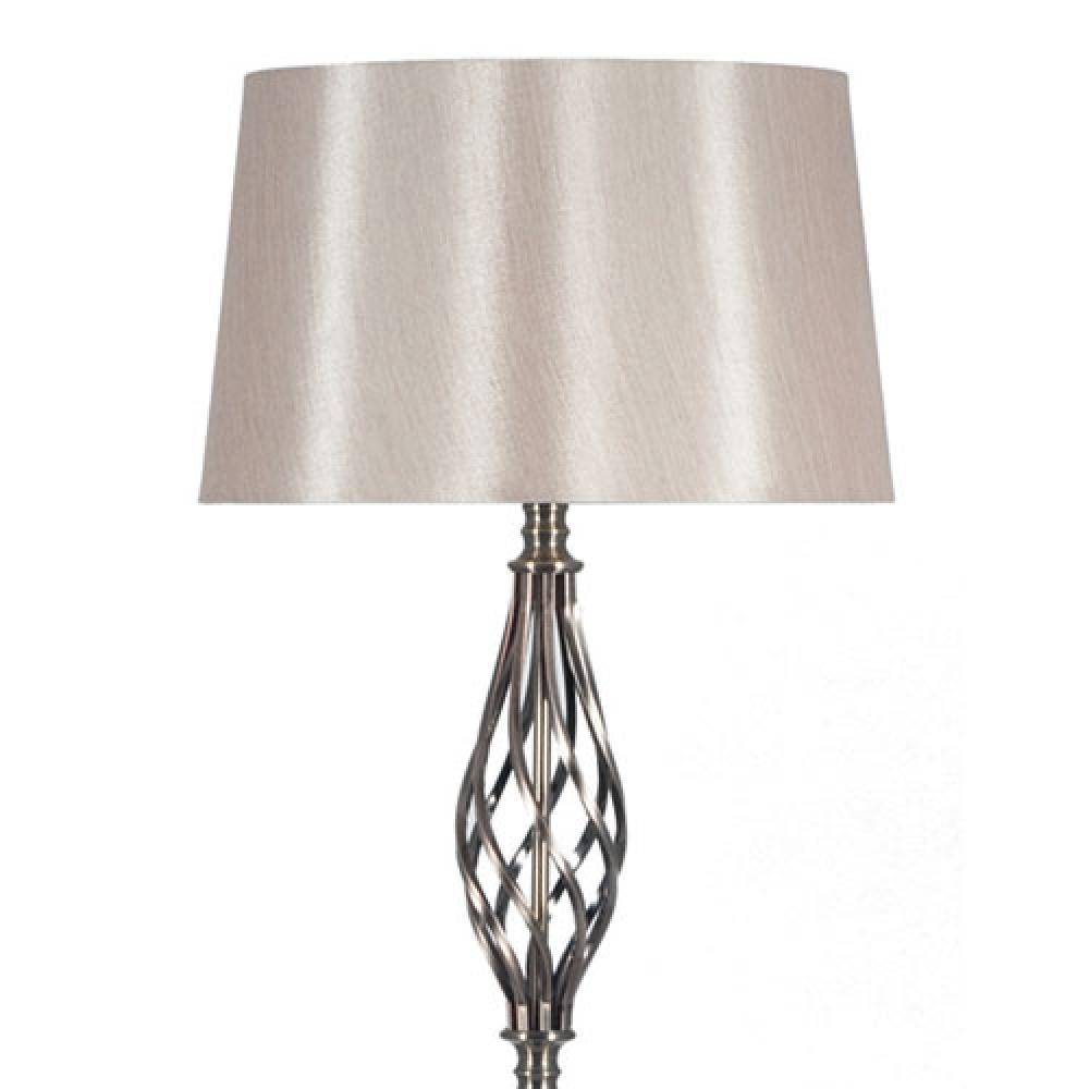 Antique Brass Metal Twist Floor Lamp Imperial Lighting