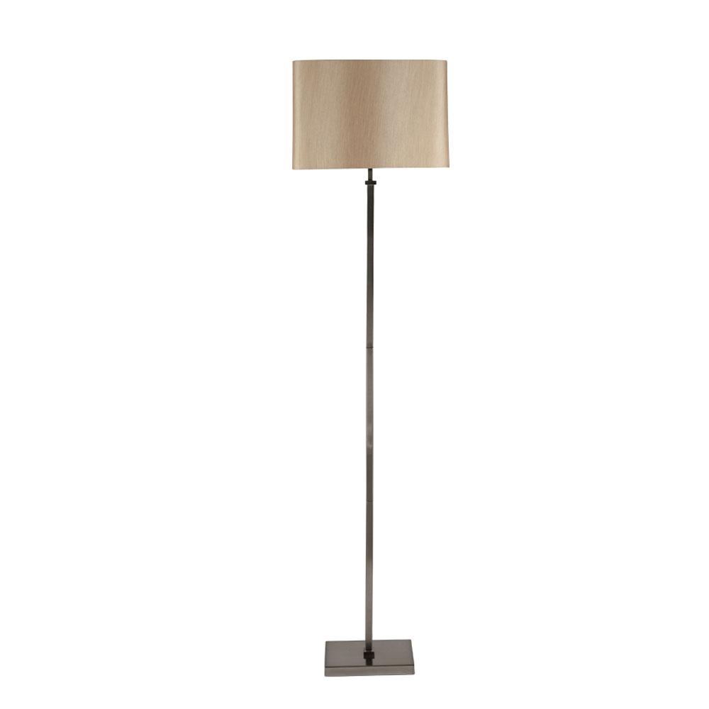Hilton Nickel Floor Lamp
