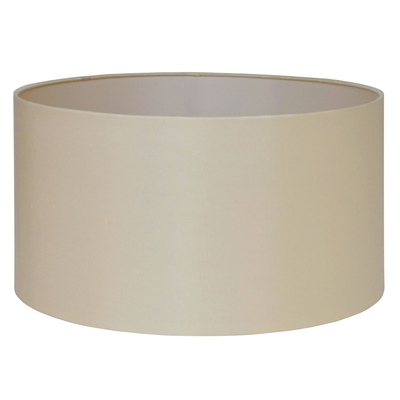 Silk Drum lampshade Almond