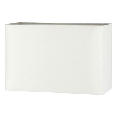 rectangular polysilk lampshade in cream imperial lighting. Black Bedroom Furniture Sets. Home Design Ideas
