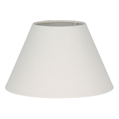 Empire Lampshade in Cream Linen