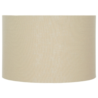 Lino Butterscotch Lampshade