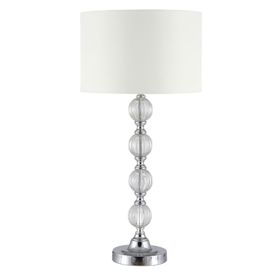 Lebus Silver Table Lampset