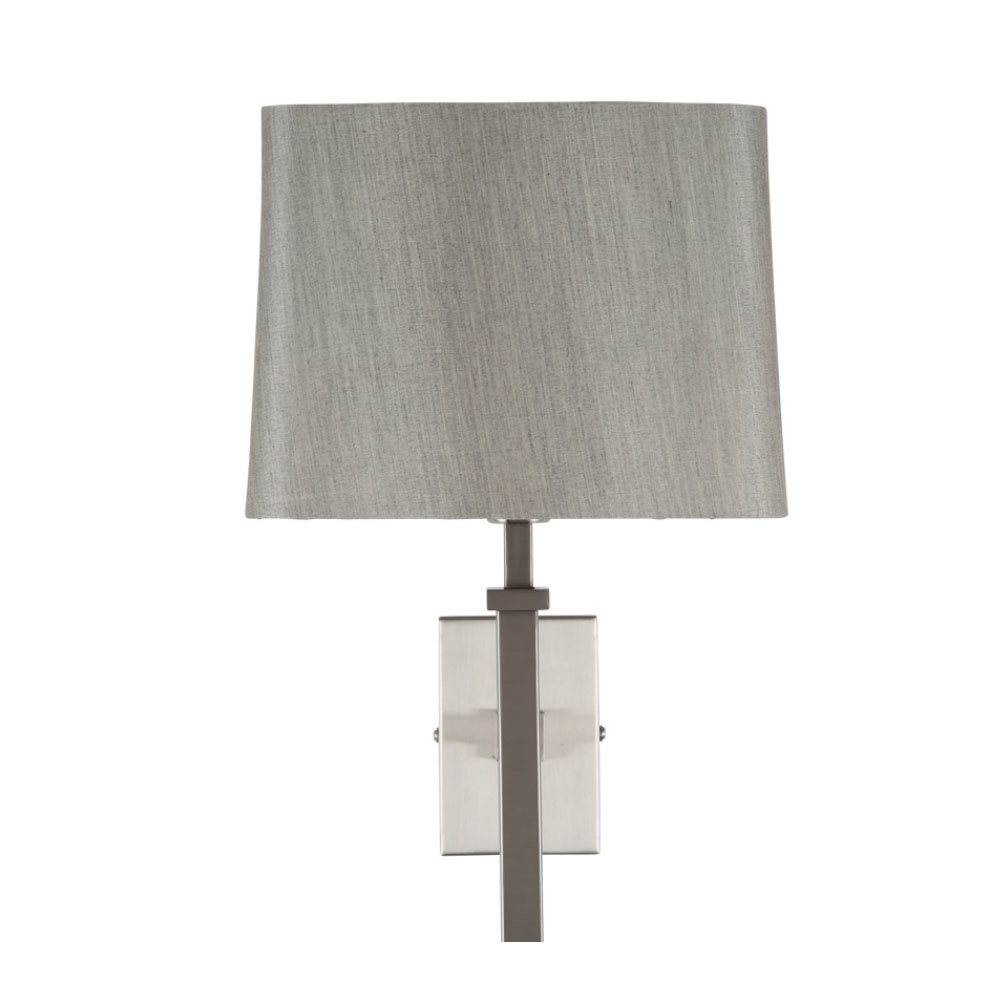 Hilton Nickel Wall Light