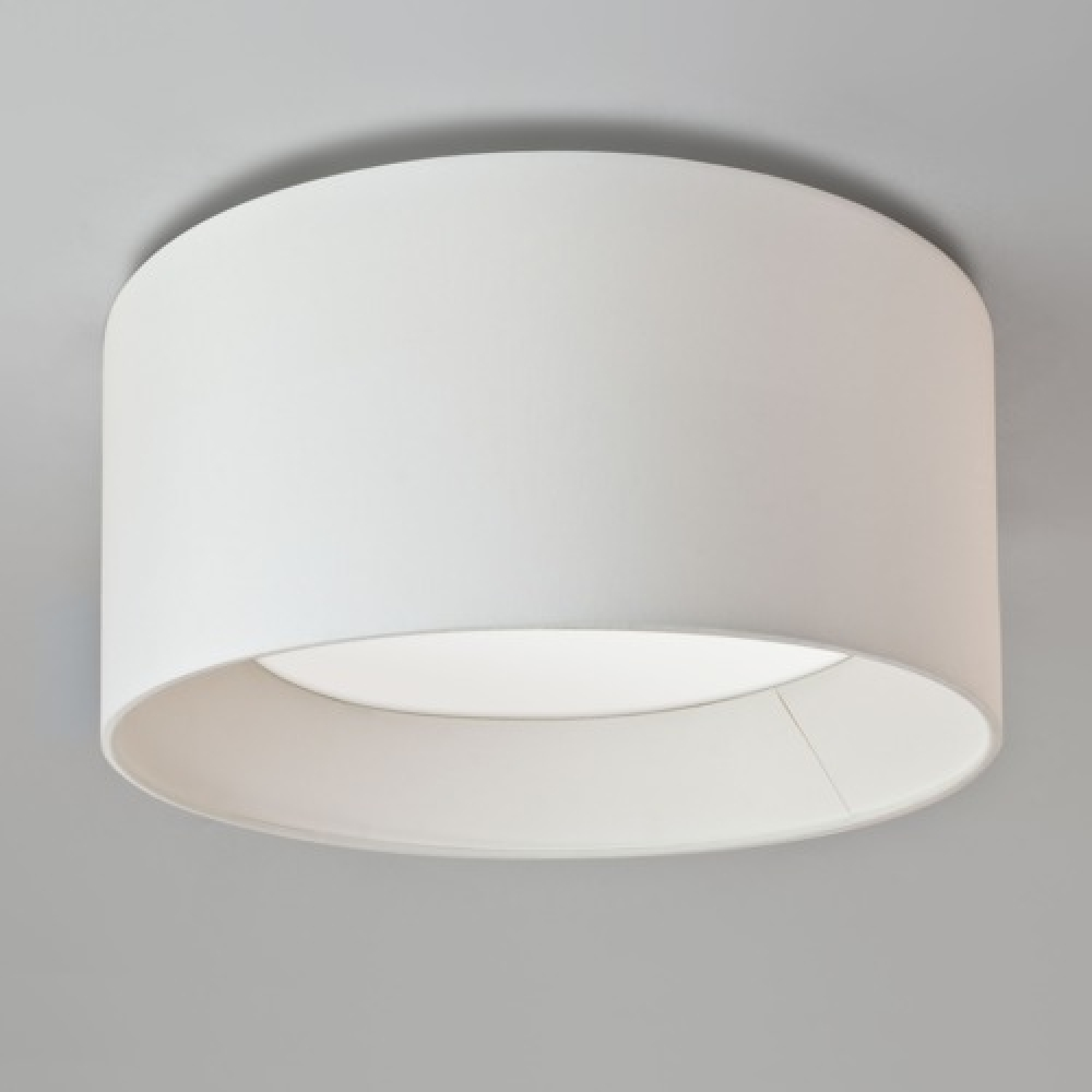 Flush Bevel Pendant White