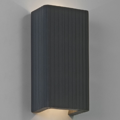 Floating Black Fabric Wall Light - Imperial Lighting