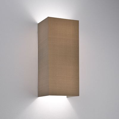 Floating Oyster Fabric Wall Light
