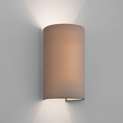 Floating Oyster Tube Fabric Wall Light