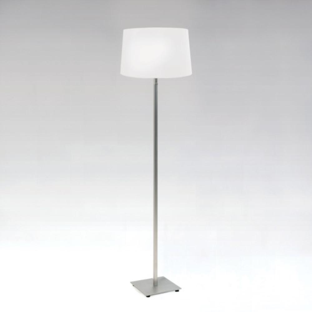 Azumi Nickel Floor Lamp and Shade