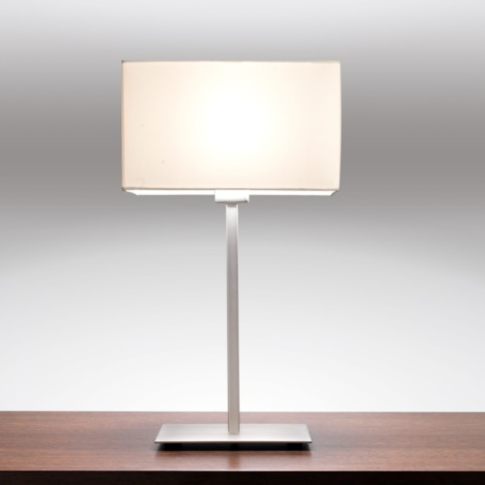 Park Lane Nickel Table Lamp And Shade Imperial Lighting