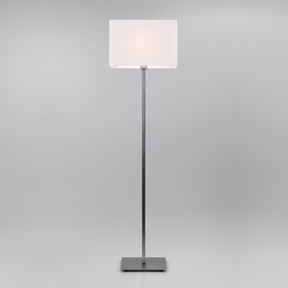 Park Lane Nickel Floor Lamp and Shade