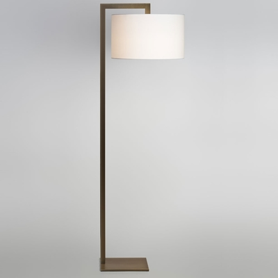 Overhead Bronze Floor Lamp