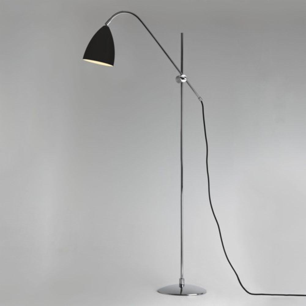 Joel Black Floor Lamp