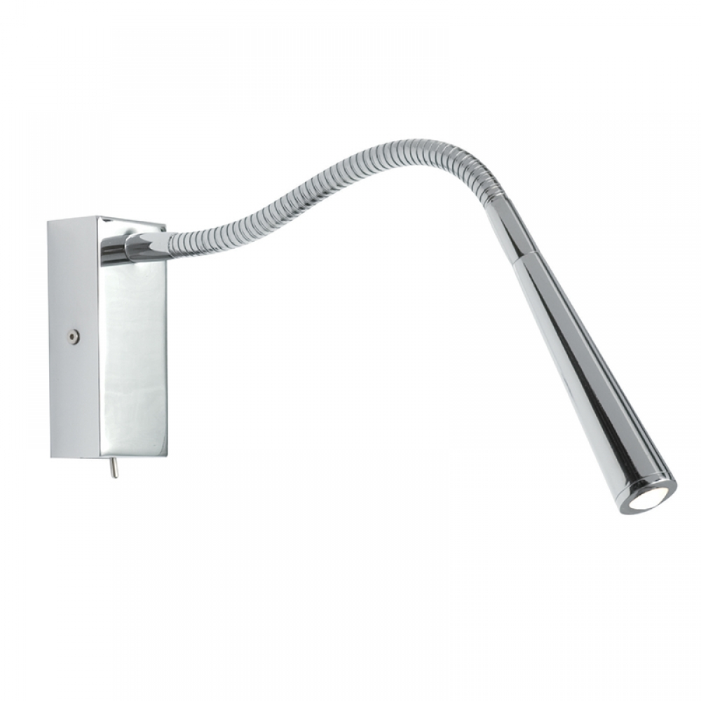 Flexi LED Wall light in Chrome