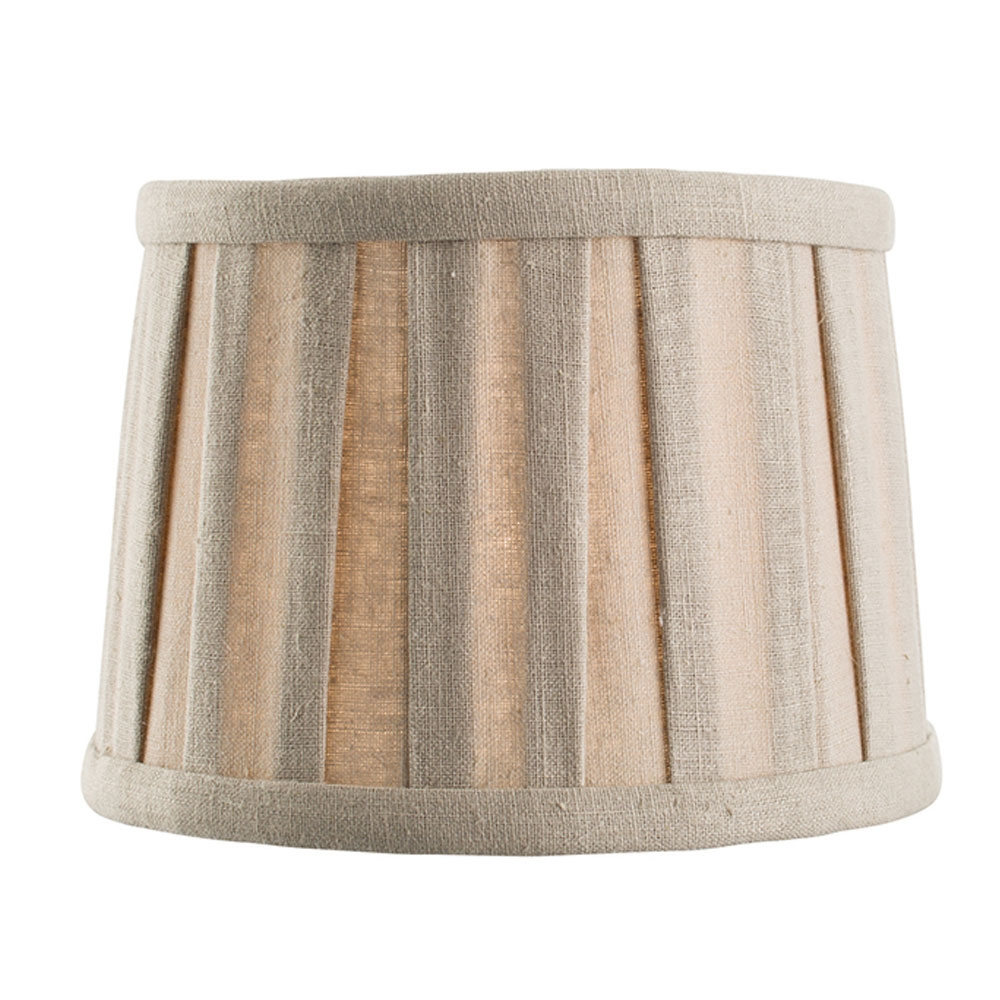 Pleated Candle Shade Taupe Imperial Lighting