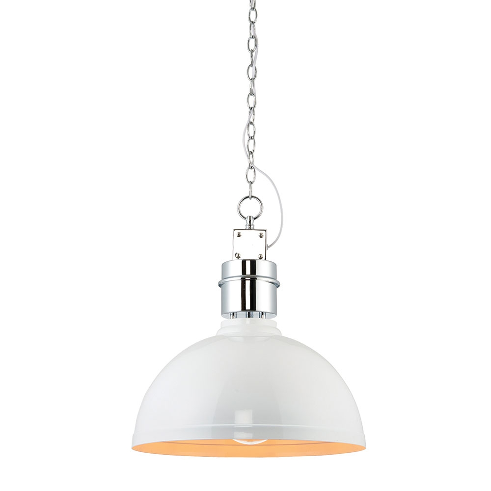 Collingham pendant white