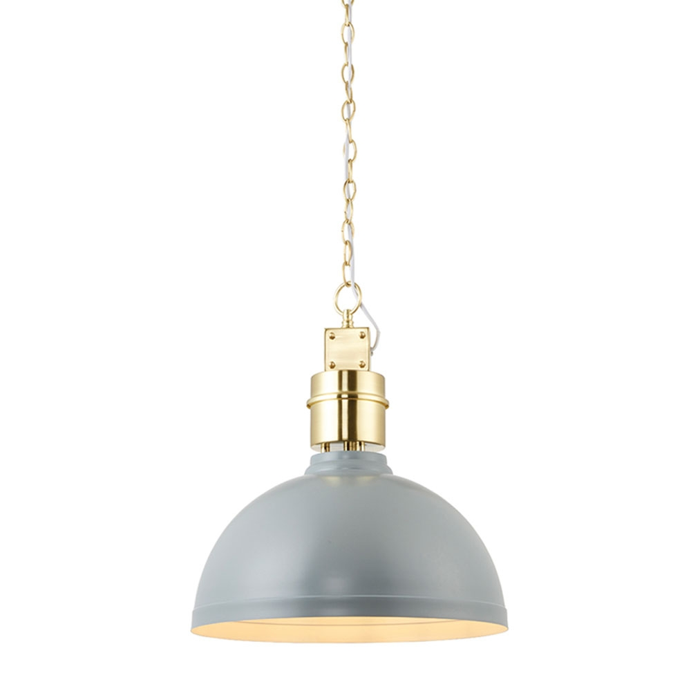 Collingham pendant grey