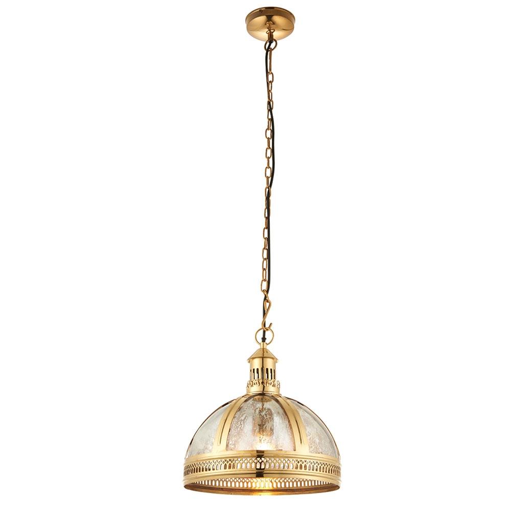 Vienna Brass Small Pendant