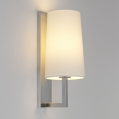 Riva Matt Nickel Wall Light