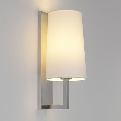 Riva Matt Nickel Wall Light