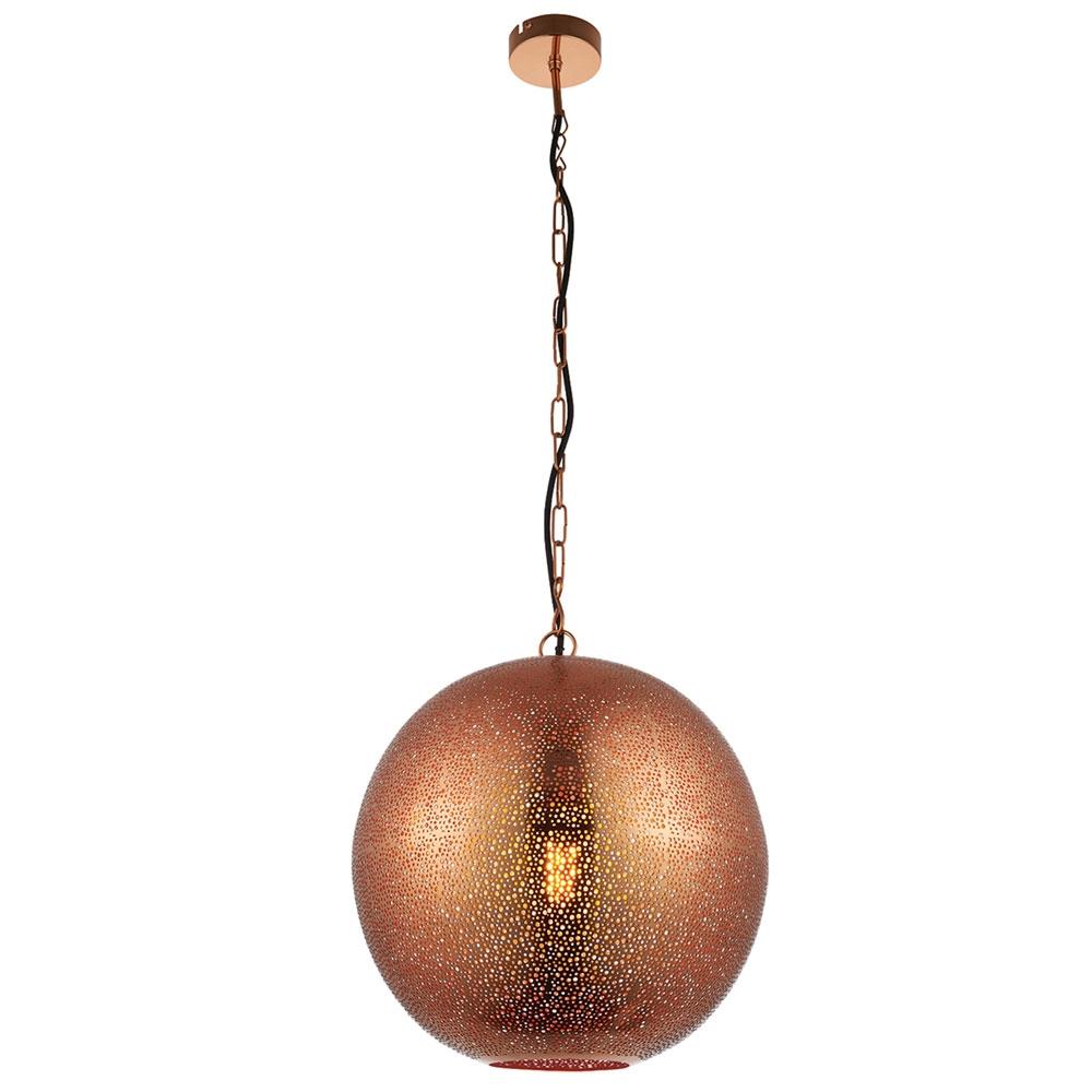 Abu copper pendant