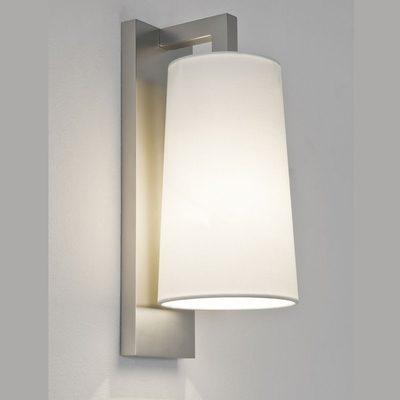 Lago Matt Nickel Wall Light