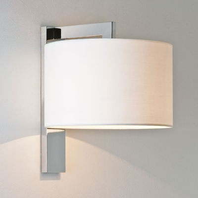 Line Polished Chrome Wall Light