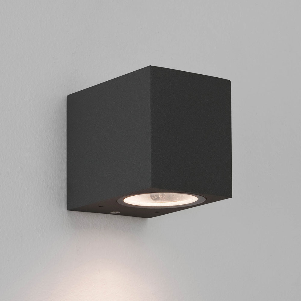 Chios 80 Black Wall Light