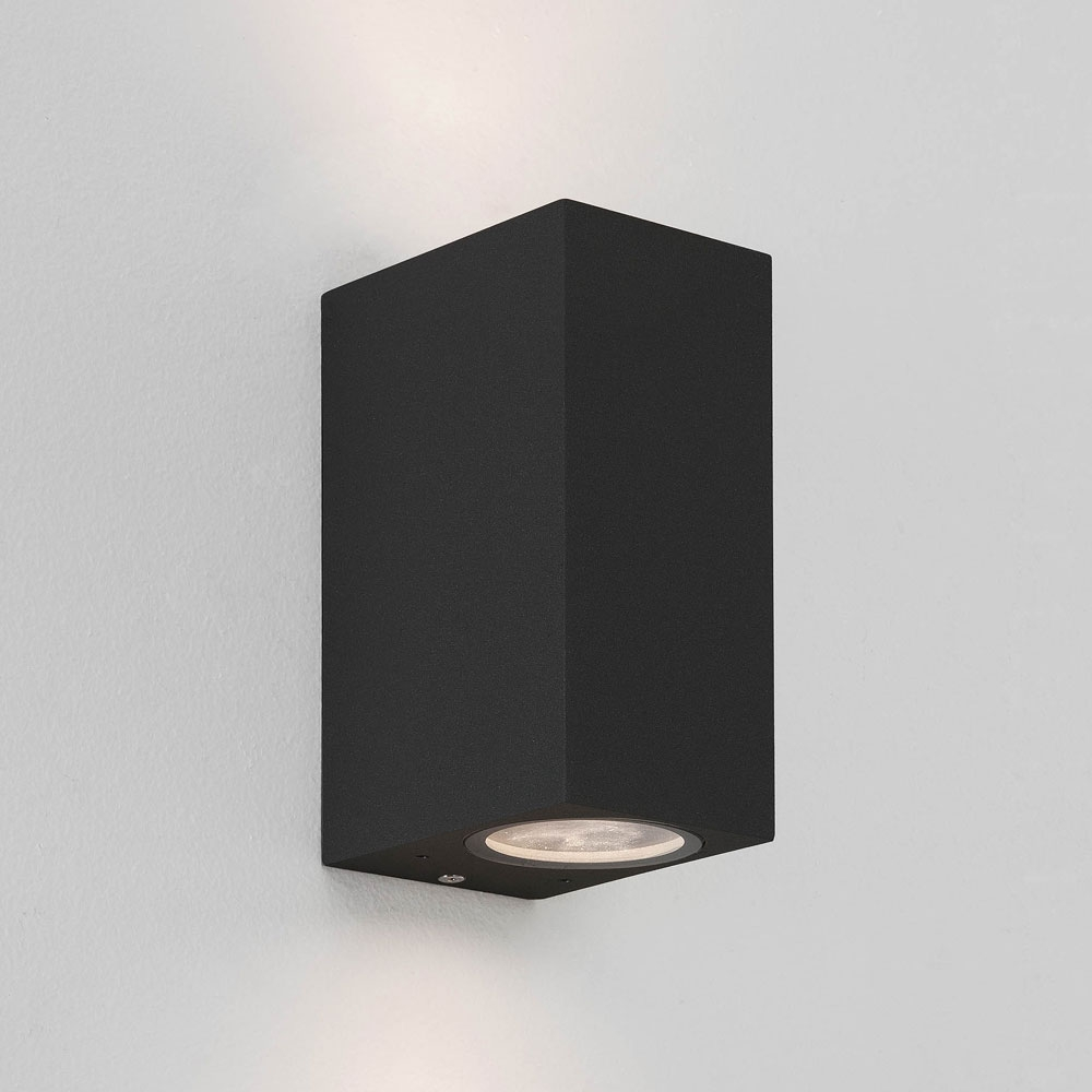 Chios 150 Black Wall Light
