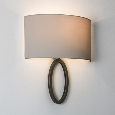 Amulet Bronze Semicircular Wall Light