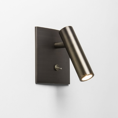 Spotlight Square Bronze LED Wall Light