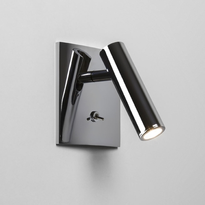 Spotlight Square Polished Chrome LED Wall Light