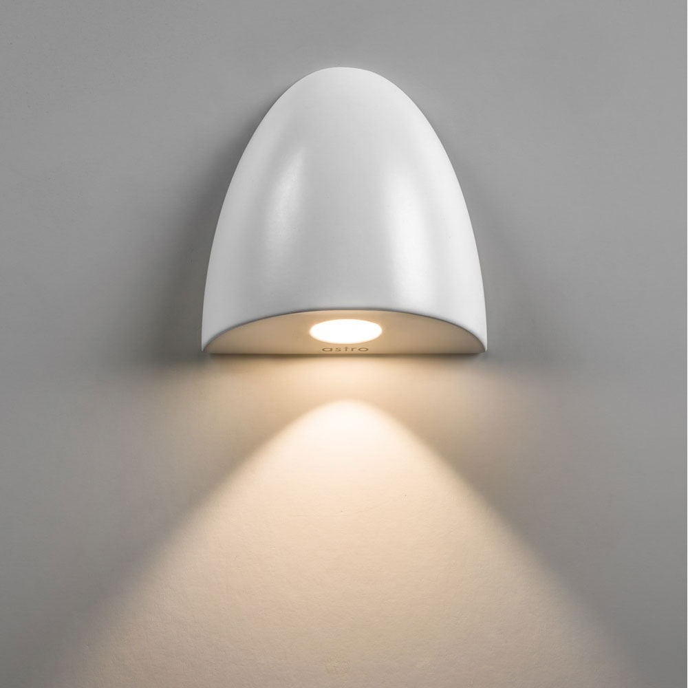 Orpheus White Wall Light