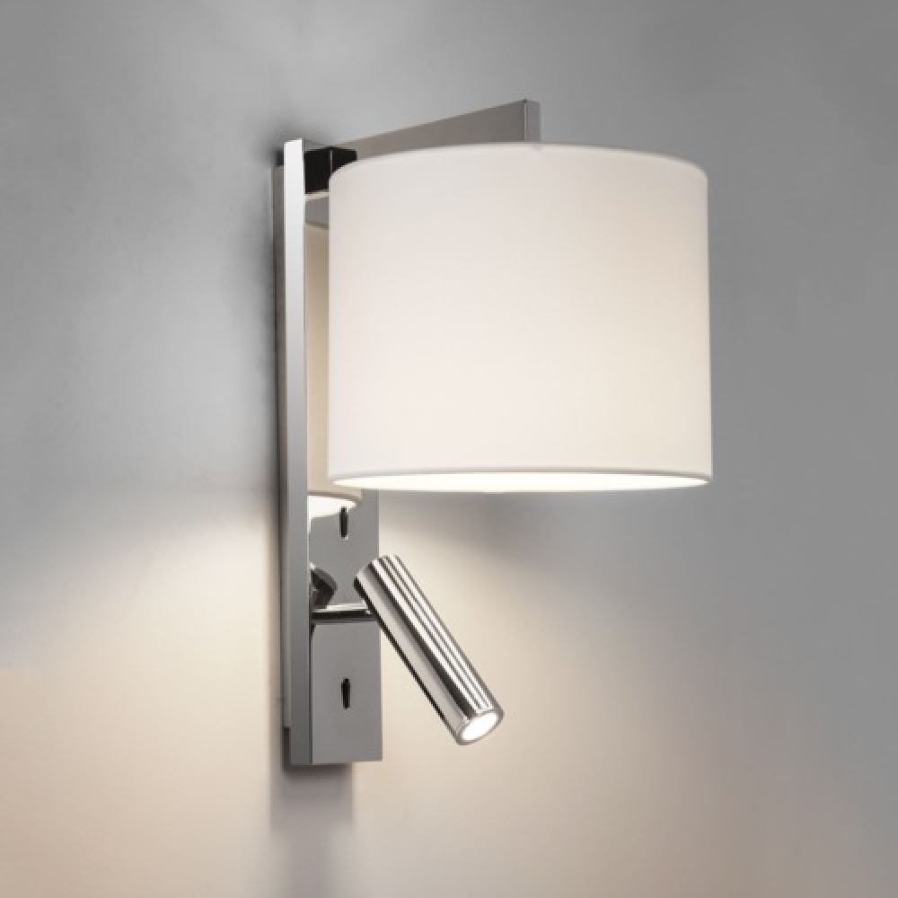 Wall Lights In Chrome : Polished Chrome Spotlight Wall Light - Imperial Lighting