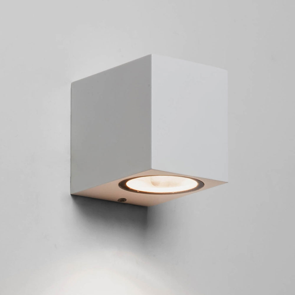 Chios 80 White Wall Light