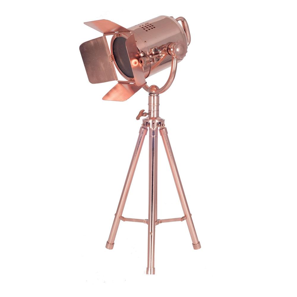 Film Set Greta Copper Table Lamp