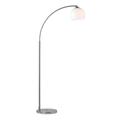 Archway chrome floor lamp with foot dimmer imperial lighting for Floor lamp with foot dimmer