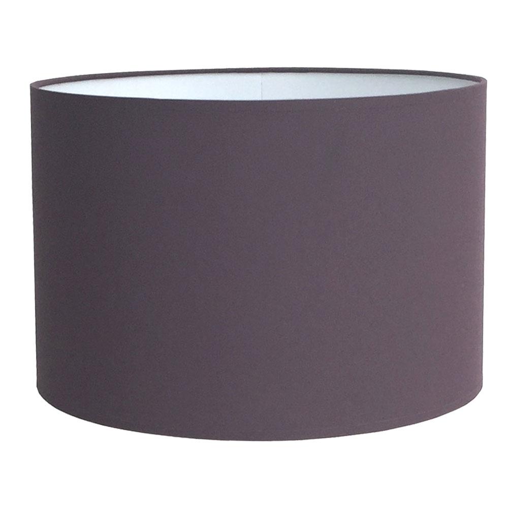 Drum Table Lampshade Aubergine