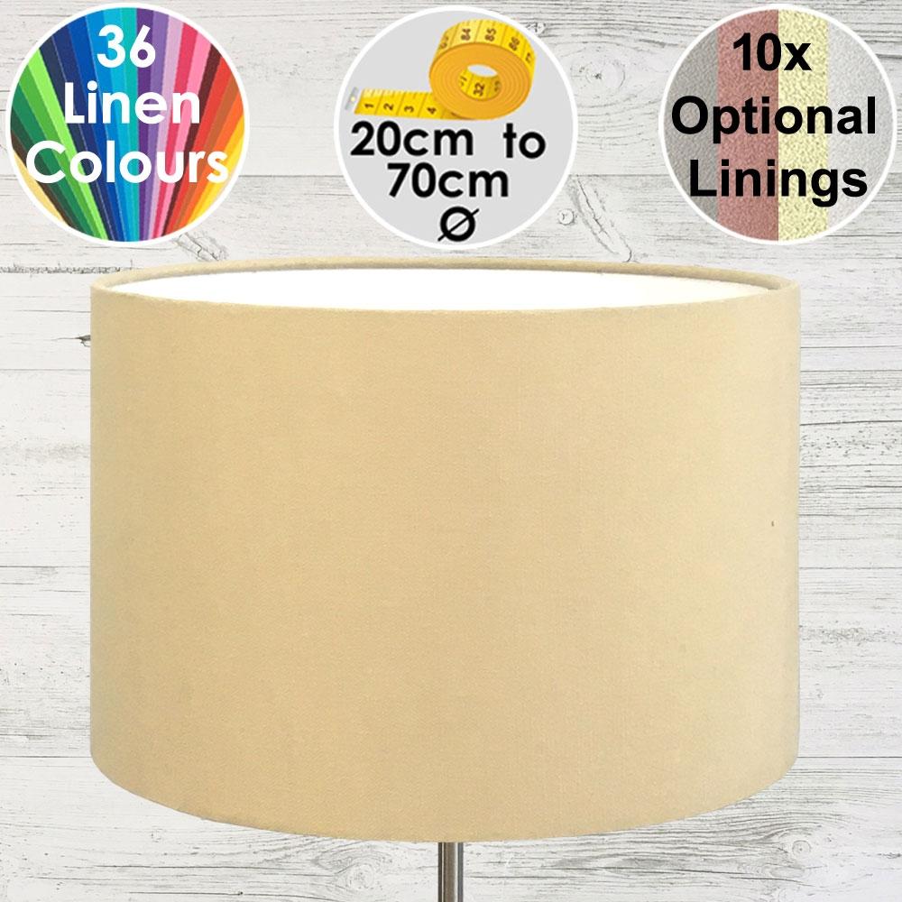 Aura Drum Table lampshade Beige