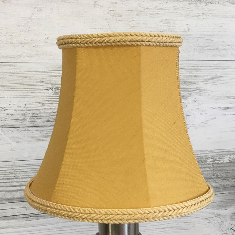 Bowed Empire Candle Shade Gold