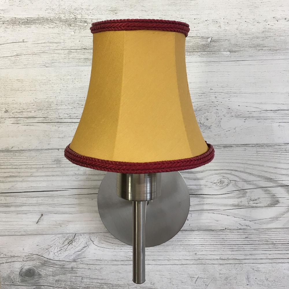 Bowed Empire Candle Gold Amp Ruby Imperial Lighting