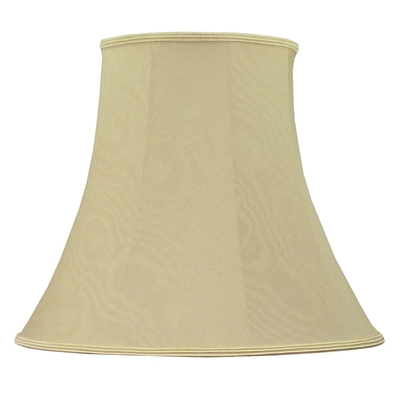 Bowed Empire Lampshade Oyster Moire