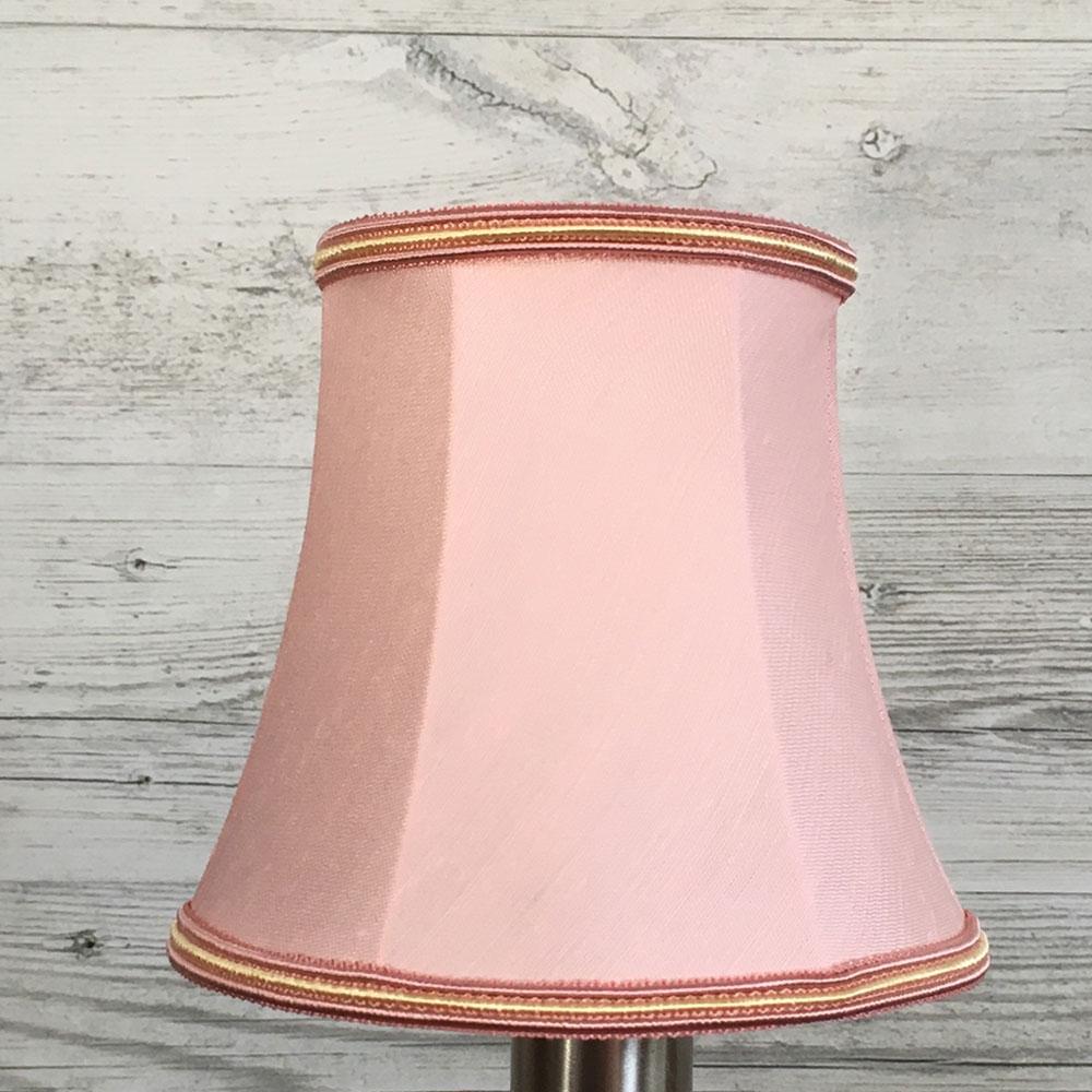Bowed Empire Candle Shade Pink
