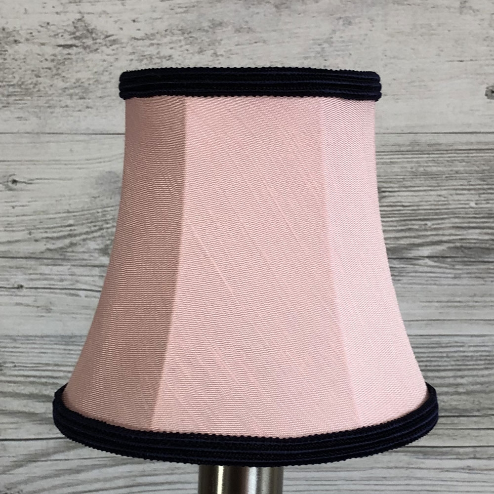 Bowed Empire Candle Pink & Navy